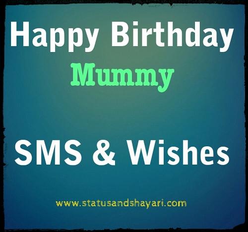 Happy Birthday Mummy Wishes
